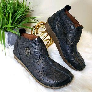 Alegria | 10 Caiti Boot Brown/Bronze Leather